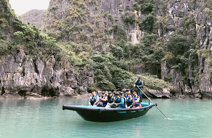 An Excursion into Halong Bay