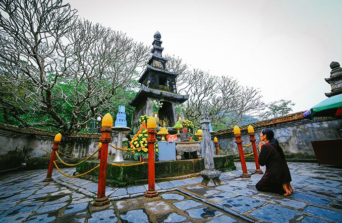 Yen Tu Pagoda and Village